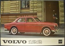 1962 Volvo 122 Sedan Catalog Sales Brochure Excellent Original 62