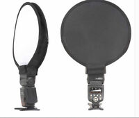 30cm Round Disc Softbox Diffuser Flash For Canon Nikon Sony Pentax UK Seller