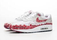 NIKE AIR MAX 1 SKETCH TO SHELF TINKER RED/WHITE - CJ4286-101 UK 6 7 8 9 10 11 12