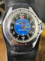 Vostok Amphibian Diver watch mechanical Soviet Military NAVY Submarine #1329