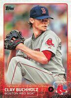 2015 Topps Clay Buchholz #211 Boston Red Sox