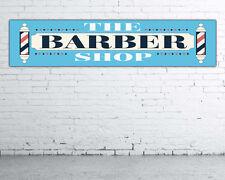 Lona PVC,banner para taller,club o tienda Barber Shop 180 cm x 40 cm nº20