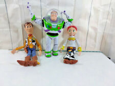 Toy Story Lot Jessie Woody Buzz Lightyear Pull String Talking TESTED ALL WORK