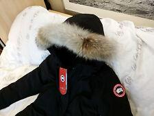 "BRAND NEW ""BLACK"" (RED LABEL) CANADA GOOSE TRILLIUM LARGE ARCTIC PARKA JACKET"