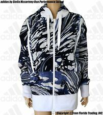 adidas by Stella McCartney Running Performance Jacket(M)White/Noble Ink F51198