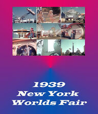 1939 NY NEW YORK WORLDS FAIR Films Video 5 Hours 2- DVD's