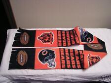Chicago Bears Football Fleece Scarf GO BEARS!!!