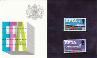 GB Presentation Pack 1967 EFTA Stamp Set