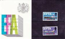 GB Presentation Pack 1967 EFTA Stamp Set
