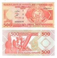 VANUATU 500 Vatu UNC Banknote (1993) P-5 Paper Money