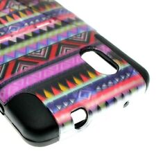 For LG Google Nexus 5 Case Hard Soft Dual Layer Tribal Hybrid Stand Cover