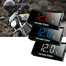 Car Auto 12V Digital LED Display Voltmeter Voltage Gauge Panel Meter Accessories