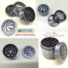Tobacco Herb Spice Grinder 4Piece Herbal Alloy Smoke Metal Chromium Crusher Zinc