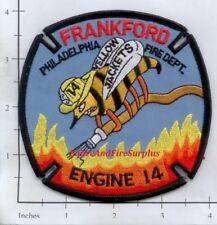 Pennsylvania - Philadelphia Engine 14 PA Fire Dept Patch - Yellow Jackets
