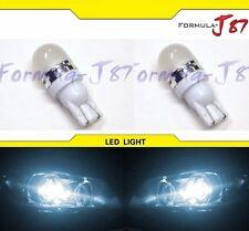 LED 5050 Light 2825 White 6000K Two Bulbs Side Marker Map Step Door Park Trunk