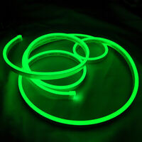 Green Flex Neon LED Rope Light for Car Party Sign Home Decor Outdoor Lighting