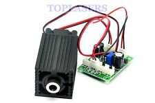 DC12V Focusable 500mw 808nm Infrared IR Laser Diode Dot Module+ TTL+ Driver Out