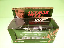 CORGI TOYS 05701 MERCEDES BENZ - 007 JAMES BOND OCTOPUSSY - NEAR MINT IN BOX