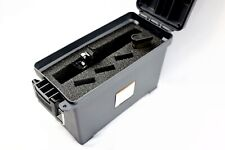 Precut Foam fits Harbor Freight 30cal 30 caliber Ammo Can hold 1 Pistol .45 mags
