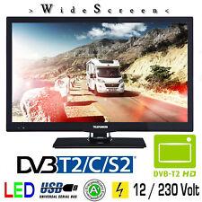 Telefunken T22X720 MOBIL LED Fernseher 22 Zoll DVB/S/S2/T/T2/C USB 12V 230V