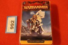 Juegos taller Warhammer High Elf Prince Korhil Blanco Leones finecast fuera de imprenta nuevo GW