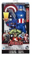 Marvel Avengers Titan Hero Hasbro Volt Glider Captain America 12 Inch Ages 4 Toy