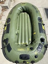 SEVYLOR HF 250 FISH HUNTER 3 MAN or 450#  INFLATABLE BOAT RAFT EXC COND