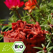 Bio Goji Beeren - 1kg - 500g - 250g - kontrolliert biologischer Anbau