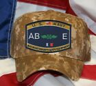 NAVY RATING ABE BOATSWAIN'S MATE EQUIPMENT NAVY HAT PATCH