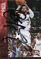 Chris Paul Autograph Signed 2012 Panini Threads Card #58 LA Clippers