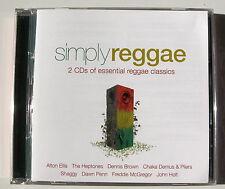 SIMPLY REGGAE . Heptones, Maytals, Delroy, Jamaicans, Ethiopians , ect..... 2 CD