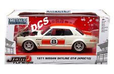 JADA  JDM TUNERS 1971 NISSAN SKYLINE GTR KPGC10 #8 1/24 DIECAST CAR 30003