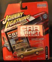 Johnny Lightning Car Craft Magazine 1967 Pontiac GTO Test Car 1:64