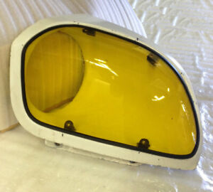 Fits 79-83 280ZX S130 Fairlady GTS Yellow Acrylic Headlight Covers GT0557Y