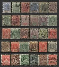 Gold Coast Collection 30 Early Stamps Used