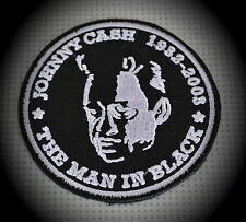 Johnny Cash Patch Aufnäher Aufbügler Country Rockabilly The Man In Black