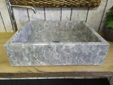 Grey Shell Fossil Marble Sink 41 Diameter 50 x 40 cm