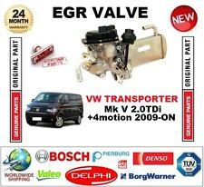 FOR VW TRANSPORTER Mk V 2.0TDi +4motion 2009-ON Electric EGR VALVE WATER COOLED