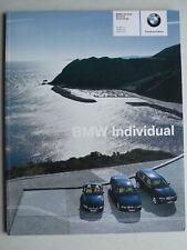 Prospekt BMW Individual - Maritime Ausstattung – 7er / X5 / Z4, 1.2004,30 Seiten