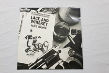Original Alice Cooper Lace And Whiskey Vinyl LP Record