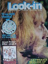 LOOK-IN MAGAZINE (NO 3) 23RD JAN 1971 - CATWEAZLE