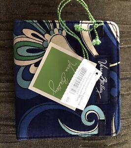 """Vera Bradley Mediterranean Blue Mediterranean Notebook 4""""x4"""" NWT"""