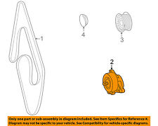 Mercedes MERCEDES-BENZ OEM 00-06 S500-Serpentine Fan Belt Tensioner 1122000970