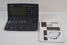 Casio SF-5580 Illuminator Business Organizer Scheduling System 128K w/ Booklet