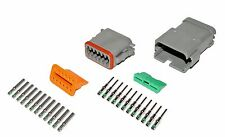 Deutsch DT 12 Pin Connector Kit 14 GA Solid Contacts
