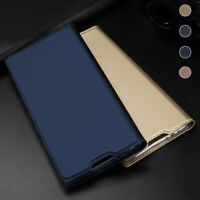 For Samsung Galaxy A20 A30 A40 A50 A70 A80 Magnetic Wallet Case Slim Flip Cover