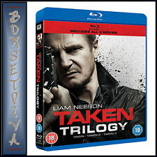 TAKEN TRILOGY - TAKEN/ TAKEN 2/ TAKEN 3 **BRAND NEW BLU-RAY BOXSET**