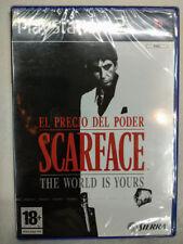 Scarface The World Is Yours para playstation 2 Nuevo y precintado Pal