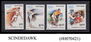 INDIA - 1992 25th OLYMPIC GAMES BARCELONA - 4V - MINT NH