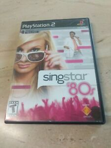 Singstar 80's PlayStation 2 PS2